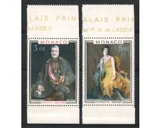 1981 - LOTTO/13348 - MONACO - RITRATTI DI PRINCIPI 2v. - NUOVI