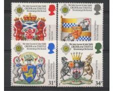 1987 - LOTTO/13354 - GRAN BRETAGNA - STEMMI ARALDICI 4v. - NUOVI