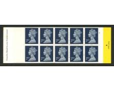 1989 - LOTTO/13355 - GRAN BRETAGNA  - 2ND AZZURRO VIVO - LIBRETTO NUOVO