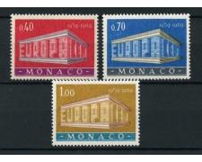 1969 - LOTTO/13365 - MONACO - EUROPA 3v. - NUOVI