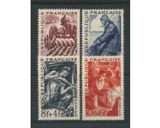 1949 - LOTTO/13367 - FRANCIA - MESTIERI 4v. - NUOVI