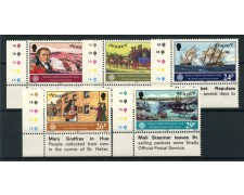 1983 - LOTTO/13376 - JERSEY - ANNO DELLE COMUNICAZIONI 5v. - NUOVI