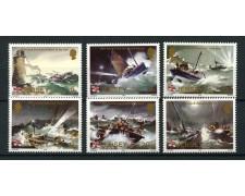 1984 - LOTTO/13377 - JERSEY - BATTELLI DI SOCCORSO 6v.- NUOVI