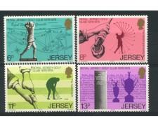 1978 - LOTTO/13393 - JERSEY - CENTENARIO ROYAL GOLF CLUB 4v.