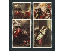 1981 - LOTTO/13399 - JERSEY - BATTAGLIA DI JERSEY  4v.