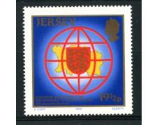 1983 - LOTTO/13405 - JERSEY - ASSOCIAZIONE PARLAMENTARI 1v.