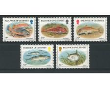 1985 - LOTTO/13411 - PESCI 5v.