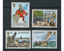 1984 - LOTTO/13420 - GUERNSEY - JOHN DOYLE  4v.