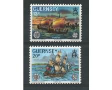 1982 - LOTTO/13429 - GUERNSEY - EUROPA 2v.