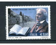 2011 - LOTTO/13452 - REPUBBLICA - ANTONIO FOGAZZARO - NUOVO