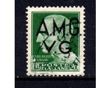 1945 - LOTTO/13460 - VENEZIA GIULIA - 20 LIRE IMPERIALE - USATO