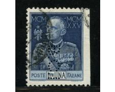 1925/26 - LOTTO/13499 - REGNO - 1 LIRA GIUBILEO  - VARIETA'
