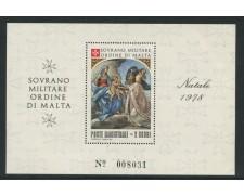 1978 - LOTTO/13505 - SMOM - NATALE FOGLIETTO NUOVO