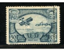 1930 - LOTTO/13516 - SPAGNA - 50c. POSTA AEREA - VARIETA'