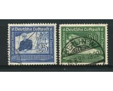 1938 - LOTTO/13542 - GERMANIA - VON ZEPPELIN 2v. - USATI
