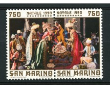 1990 - LOTTO/13582 - SAN MARINO  NATALE 2v. NUOVI