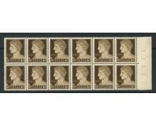 1929 - LOTTO/13616 - REGNO - 10 c. IMPERIALE - BLOCCO DI 12  NUOVO