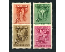 1939 - LOTTO/13825 - UNGHERIA - SCOUTS FEMMINILE 4v. - LING.