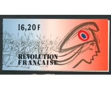 1989 - FRANCIA - LOTTO/13902 - PERSONAGGI RIVOLUZIONE LIBRETTO - NUOVO