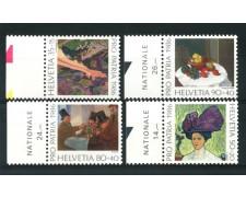 1986 - LOTTO/13903 - SVIZZERA - PRO PATRIA 4v. - NUOVI