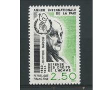 1986 - LOTTO/13905 - FRANCIA - ANNO DELLA PACE -  NUOVO