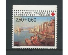1991 - LOTTO/13917 - FRANCIA - PRO CROCE ROSSA - NUOVO
