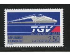 1989 - LOTTO/13930 - FRANCIA - TRENO ALTA VELOCITA' - NUOVO
