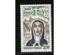 1982 - LOTTO/13935 - FRANCIA - S.TERESA D'AVILA - NUOVO