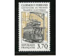 1989 - LOTTO/13938 - FRANCIA - PRIMO TRAM ELETTRICO - NUOVO