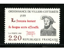 1989 - LOTTO/13939 - FRANCIA - VILLERS COTTERETS - NUOVO