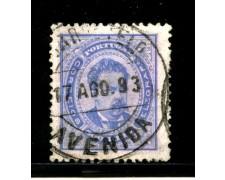 1882/87 - LOTTO/13948 - PORTOGALLO - 500 r. VIOLETTO - USATO