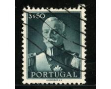 1945 - LOTTO/13952A - PORTOGALLO - 3,50 PRESIDENTE CARMONA - USATO