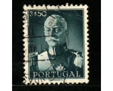 1945 - LOTTO/13952 - PORTOGALLO - 3,50 PRESIDENTE CARMONA - USATO