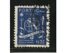 1945 - LOTTO/13953 - PORTOGALLO - 1,75 SCUOLA NAVALE - USATO