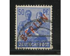 1949 - LOTTO/13958 - BERLINO - 50p. OLTREMARE - USATO