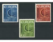 1966 - LOTTO/13964 - PORTOGALLO - EUROPA 3v. - NUOVI
