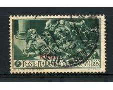EGEO/RODI - 1930 - LOTTO/13998 - 25c. F.FERRUCCI - USATO