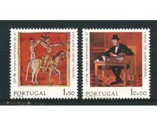1975 - LOTTO/14003 - PORTOGALLO - EUROPA DIPINTI 2v. - NUOVI