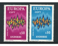 1972 - ANDORRA FRANCESE - LOTTO/14005 - EUROPA 2v. - NUOVI