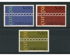 1971 - LOTTO/14008 - PORTOGALLO - EUROPA 3v. - NUOVI
