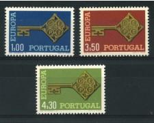 1968 - LOTTO/14009 - PORTOGALLO - EUROPA 3v.  - NUOVI