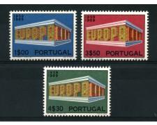 1969 - LOTTO/14010 - PORTOGALLO - EUROPA 3v. - NUOVI