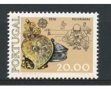1976 - LOTTO/14011 - PORTOGALLO - 20e. EUROPA  ORAFO - NUOVO