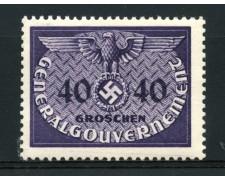 1940 - LOTTO/14058 - POLONIA OCCUPAZ. TEDESCA - 40gr. SERVIZIO - NUOVO