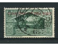 1930 - LOTTO/14075 - EGEO - 25c. VIRGILIO - USATO