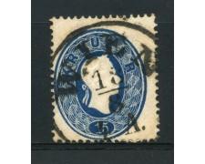 1860 - LOTTO/14116 - AUSTRIA - 15 Kr. AZZURRO - USATO