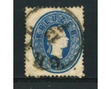 1860 - LOTTO/14118 - AUSTRIA - 15 Kr. AZZURRO - USATO