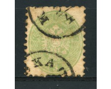 1863/64 - LOTTO/14125 - AUSTRIA - 3 Kr. VERDE - USATO