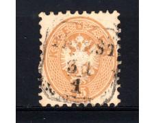 1863/64 - LOTTO/14136 - AUSTRIA - 15 Kr. BISTRO - USATO