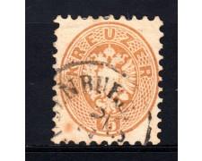 1863/64 - LOTTO/14138 - AUSTRIA - 15 Kr. BISTRO - USATO